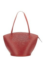 Epi Saint Jacques PM Long Strap Leather
