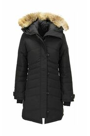 Parka with hood and fur coat