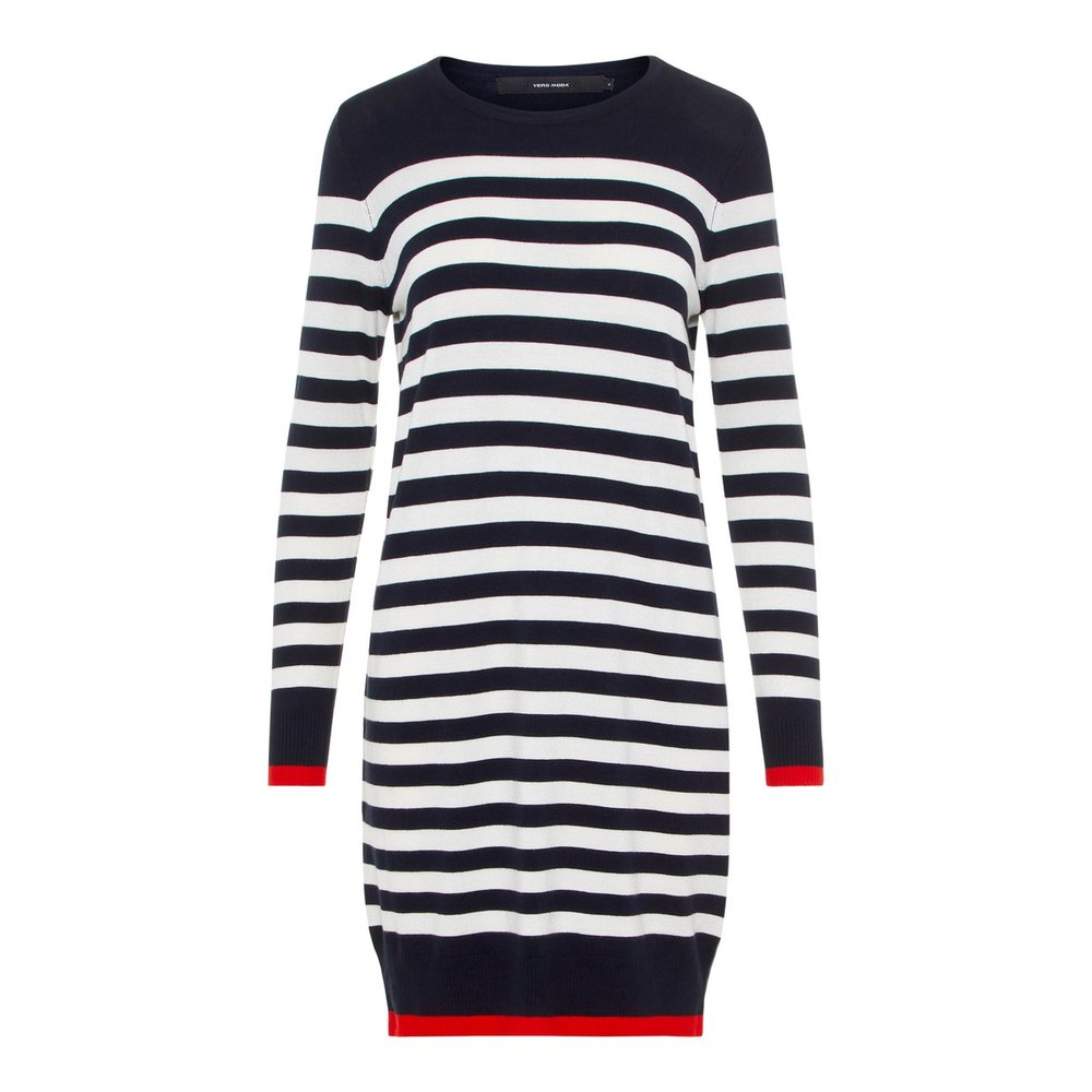 Knitted Dress Striped