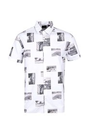 Archive Photo Print Short-Sleeve Shirt