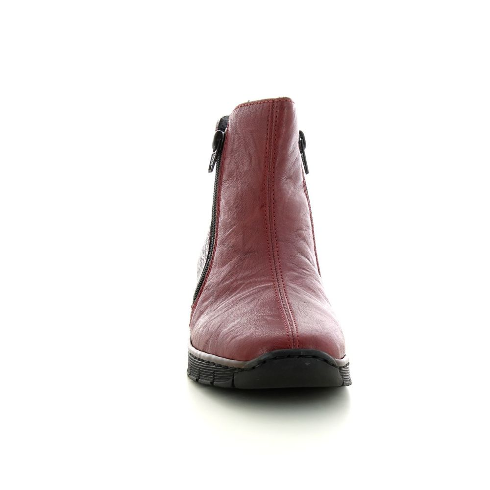 Naiset Kengät Red Shoes 73781 Rieker Saappaat Miinto