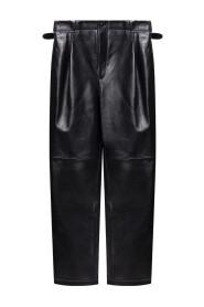 Shobak leather trousers