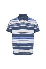 Gregor Stripe Print Polo Sweaters