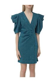 Dress with Wrap Closure