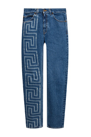 Jeans with logo