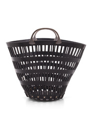 Small Basket Leather Shopping Bag