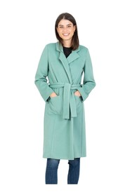 Long lagoon coat with belt