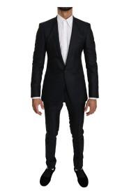 Slim fit wełniany garnitur