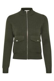 Inwear 30104672 IlonaLw Cardigan Olive Green