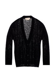 Oversize knitted cardigan