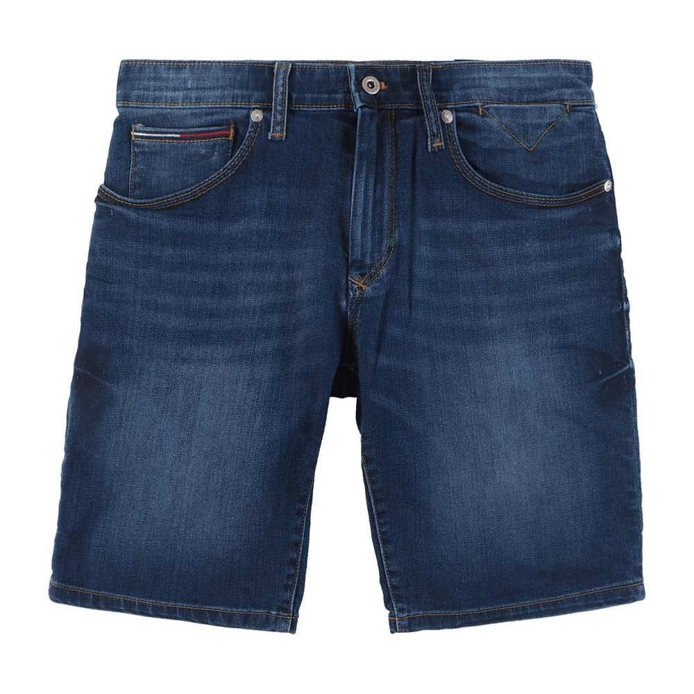 Scanton slanke denim shorts