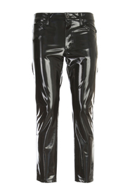 POLYESTER STRETCHED STRAIGHT PANTS