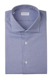 Geometric Motif Shirt