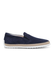 Slip-on shoes in suede
