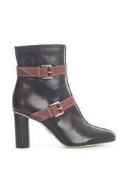 ANKLE BOOTS DOUBLE BUCKLE