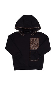 Sweatshirt with detachable hood