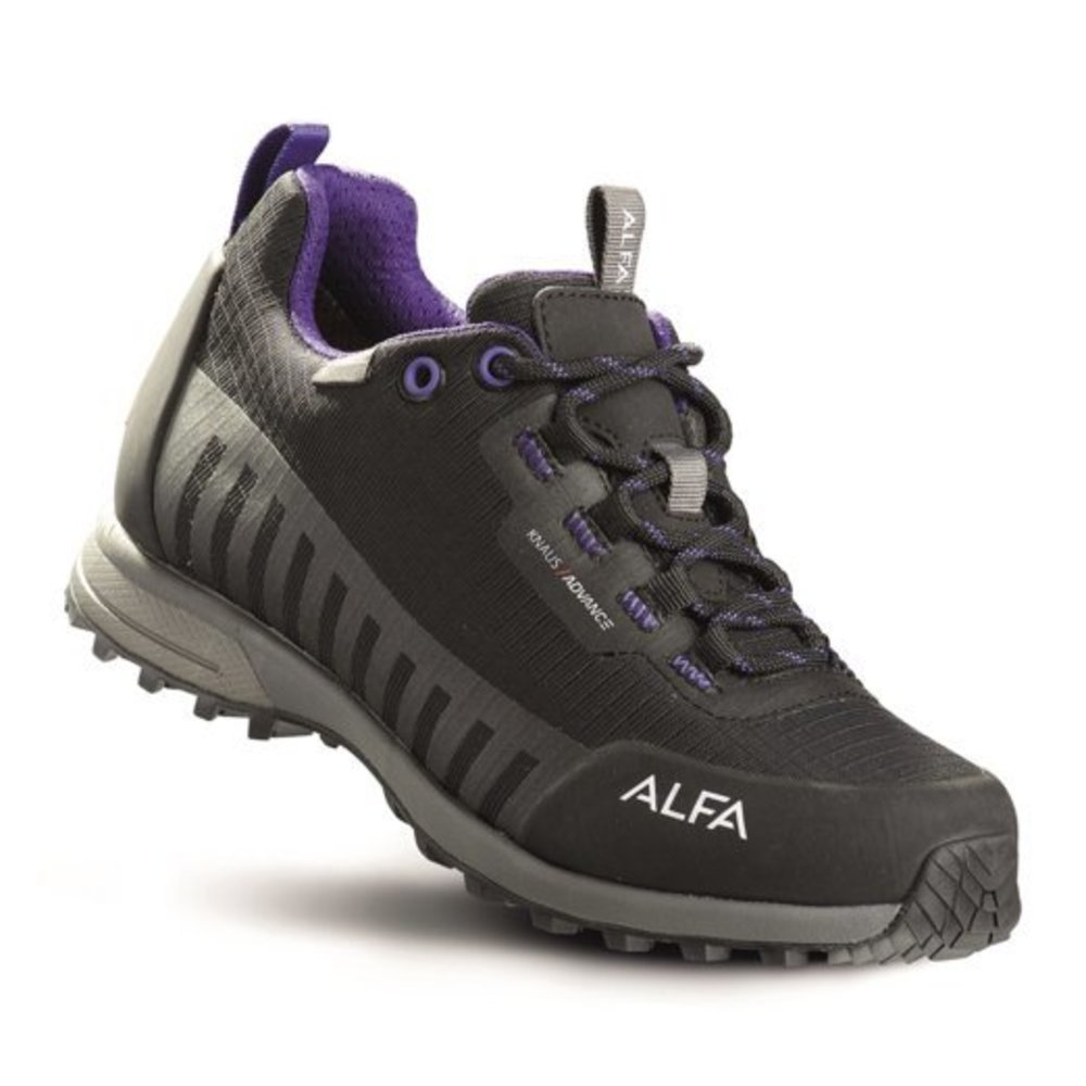 Alfa Knaus Advance GTX Sko Damer Black/Purple