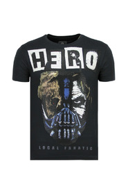 Hero Mask - Carnaval T shirt Heren