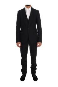 Ull en knapp Slim Fit Suit