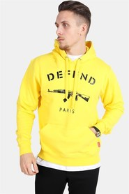 Defend Paris 75 Hood Cyber Yellow