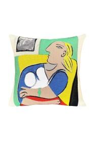 Femme dans un Fauteuil Jaune - Picasso - Pude - Gobelinvævning -