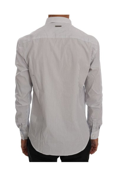 White Regular Fit Shirt Frankie Morello Koszule