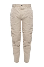 Skipper Fit trousers with raw edge