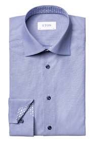 Hairline shirt contemporary fit