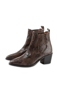 Snake leather boots YAYA 134336-922
