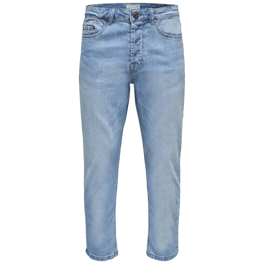Anti-fit jeans Beam cropped