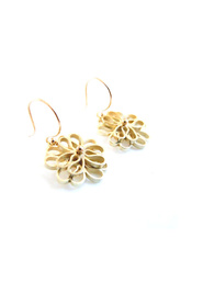 Bouquet series earrings