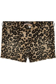 Maison Scotch Shorts Animal Print Leo