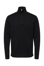 Knitted Pullover Zip neck