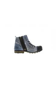 Industrial 2-f deconstructed jeans boots
