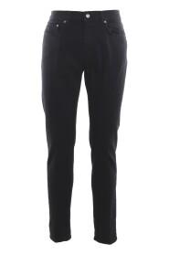 Straight leg corduroy trousers