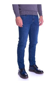 JEANS 370 CLOSE TRUSSARDI BLUE STRETCH JEANS