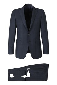 Prince of Wales Wool Suit