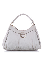 Pre-owned Abbey D-Ring Leather Shoulder Bag
