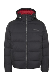 Sort Calvin Klein Jeans Hooded Down Puffer J Ytterplagg