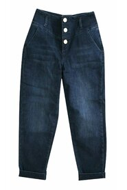 jeans mom fit stretch