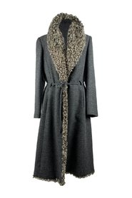 Belted Coat Size 44 IT