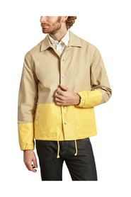 Colour block coach jacket