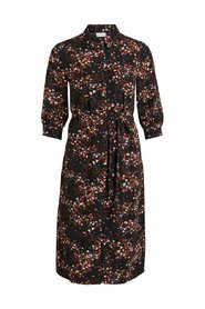 Midi dress Floral 3/4 sleeved