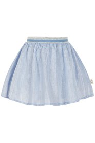 Creamie - Skirt Silver Stripe (840106) - Xenon Blue
