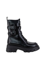 BRUSHED BOOTS SQUARE TOE