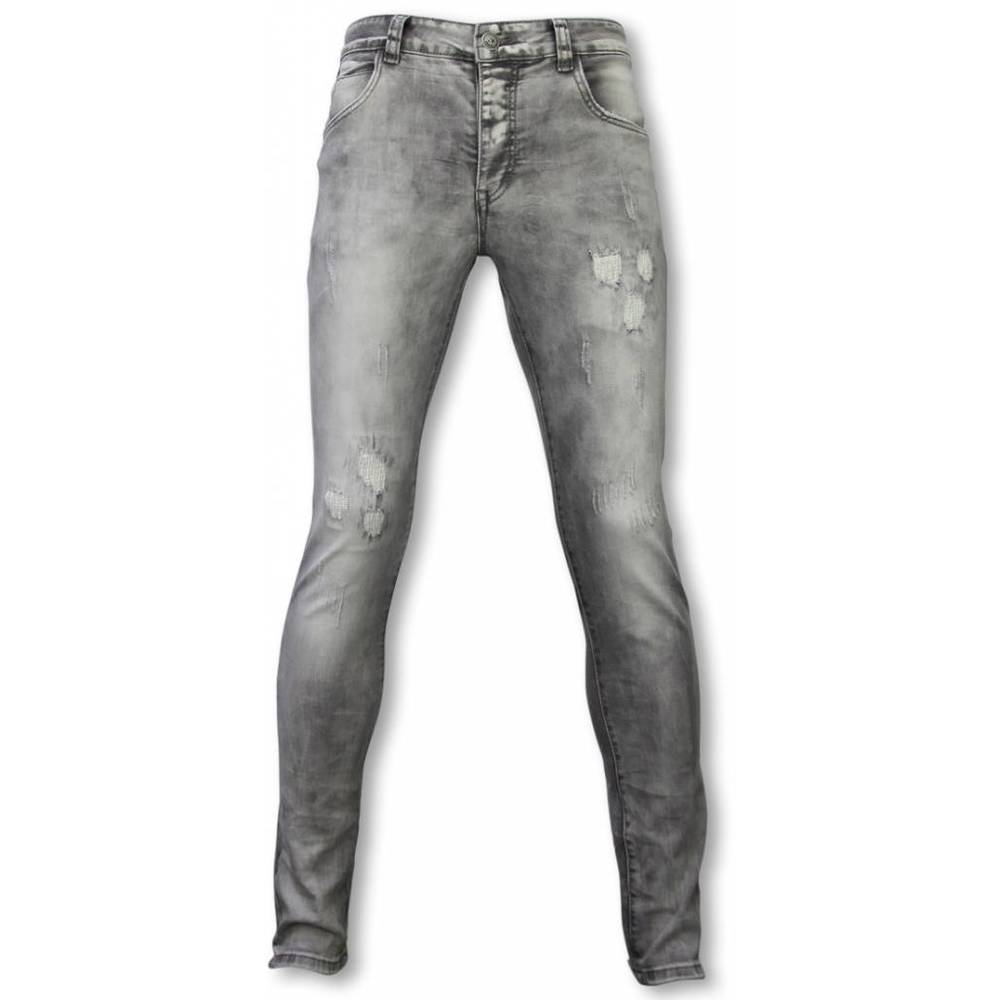 Eksklusive Jeans - Slim Fit Damaged Premium Jeans