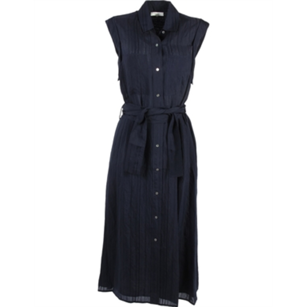 Rolled Slv Shirt Dress