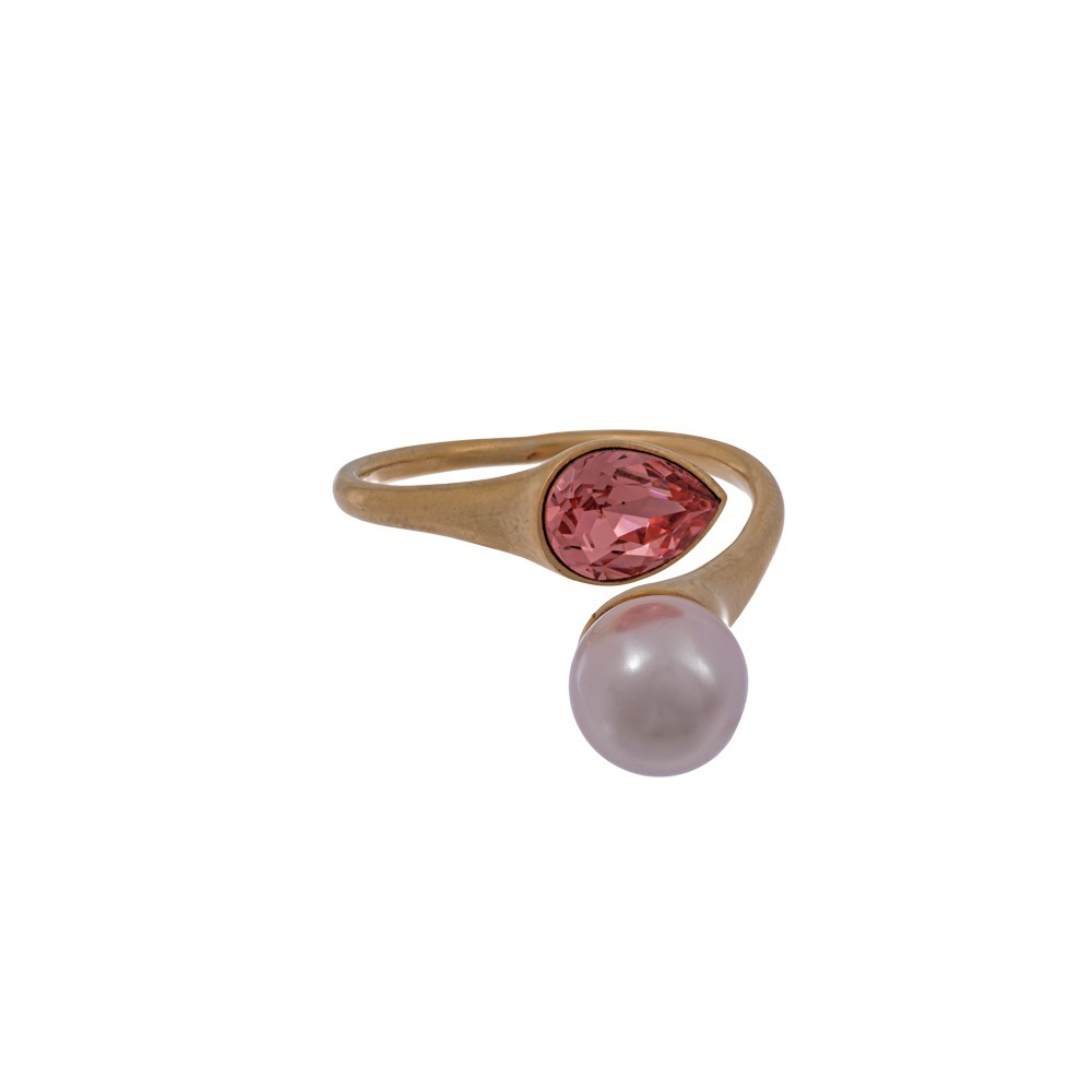 Lily and Rose Ella Rose peach ring