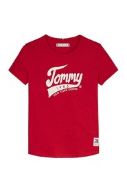 TOMMY HILFIGER KG0KG04960 1985 TEE T SHIRT AND TANK Girl RED