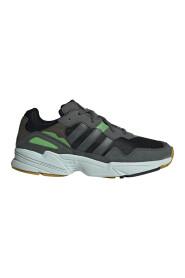 Mørkegrønn Adidas Yung-96 Sko